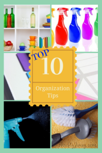 Top 10 Organization Tips
