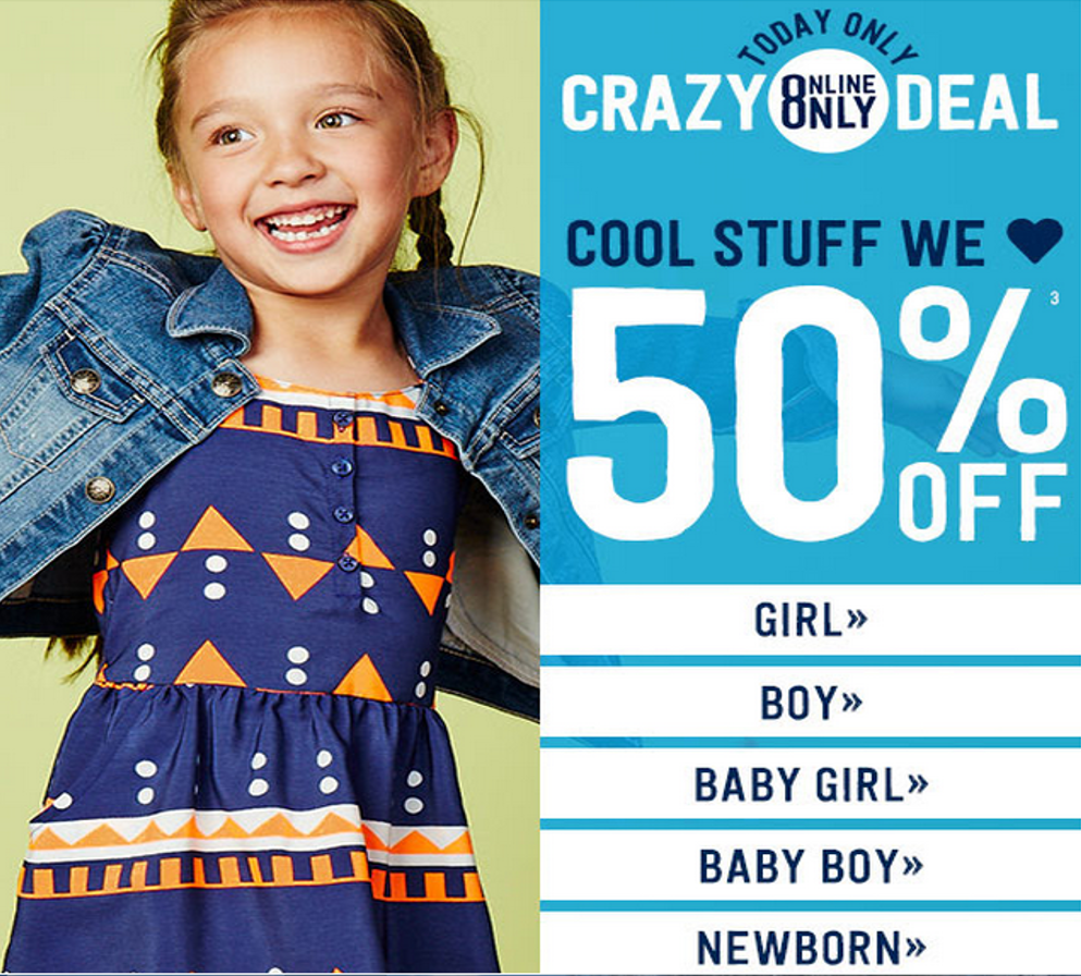 crazy 8 summer sale