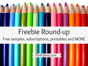 It's Freebie Friday! Big List of Free Samples and More