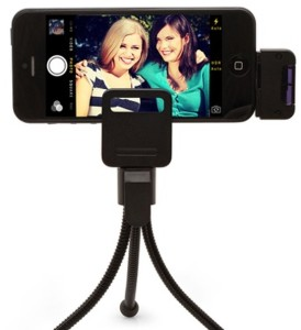 Camera Remote and Tripod for iPhones and Samsung Phones only $15.99!
