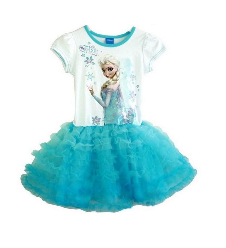ff48e20df992 Beautiful Disney's Frozen Anna and Elsa Tutu Dresses only $16.99 ...