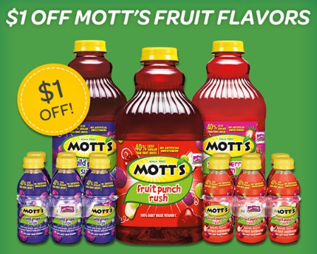 motts juice coupon