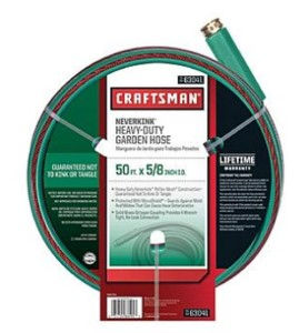 Craftsman 50-ft Water Hose only $14.24 Shipped!