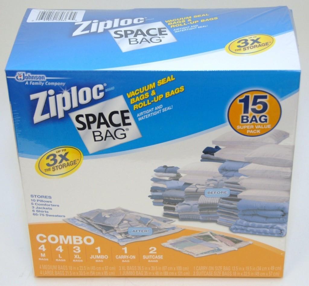 Rare 7 Ibotta Rebate On Ziploc Space Bags 7 07 At