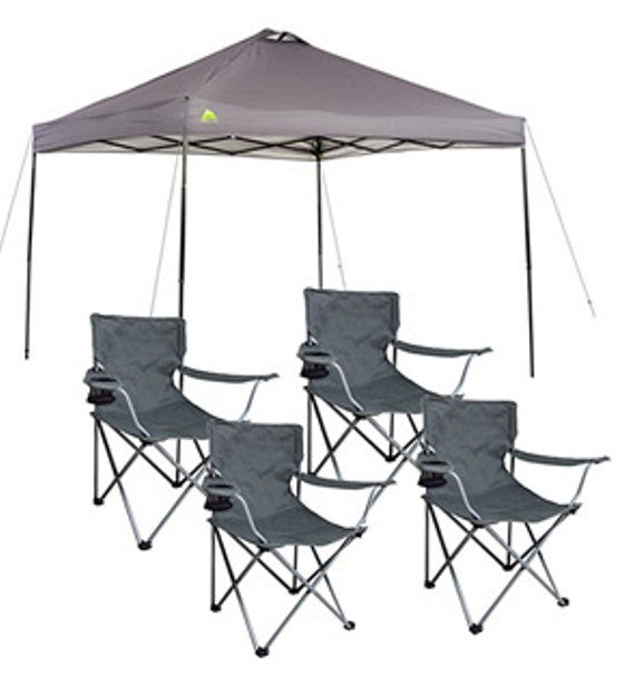 walmart ozark trail canopy  sc 1 st  Thrifty Jinxy & Ozark Trail 10x10 Canopy and Four Chairs only $76 Shipped ...