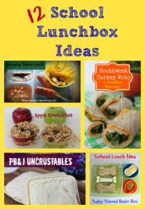 12 School Lunchbox Ideas