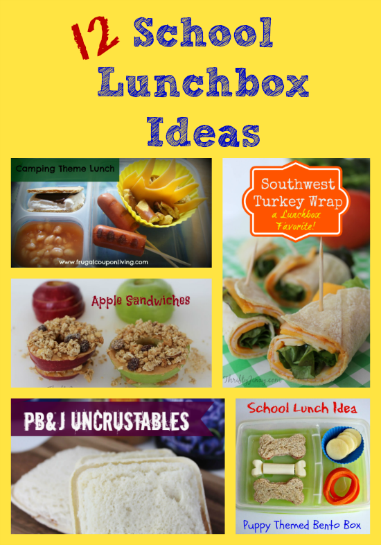 12 School Lunchbox Ideas