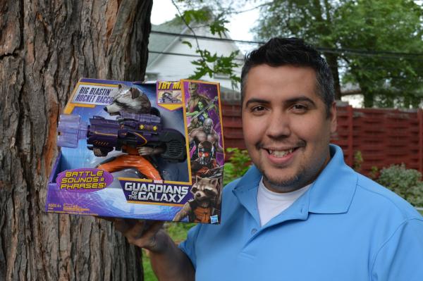 Big Blastin' Rocket Raccoon Hasbro