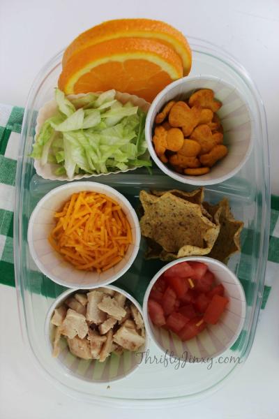 Chicken Taco Bento Box Lunchbox