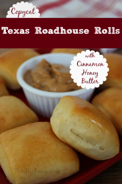 Copycat Texas Roadhouse Rolls and Cinnamon Honey Butter Recipe