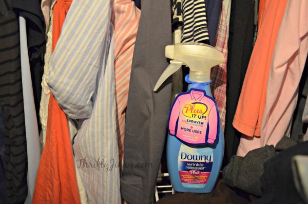 Downy Wrinkle Releaser Closet