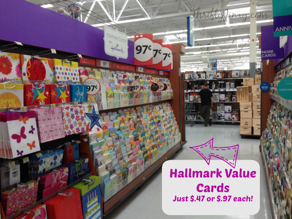 Turn a Birthday into a BIRTHWEEK with Hallmark Value Cards