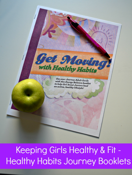 Free Healthy Habits Journey Booklets from Girl Scouts USA and Together Counts - Thrifty Jinxy