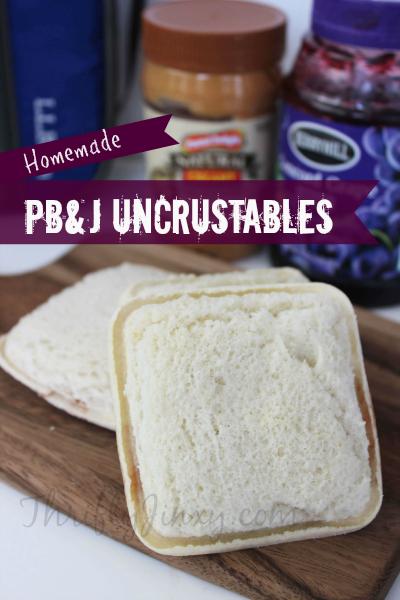 PB&J Uncrustables Recipe