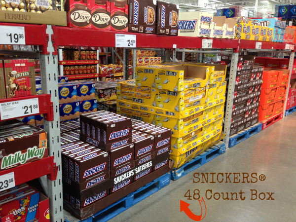 SNICKERS® 48 Count Box #Chocolate4TheWin #shop