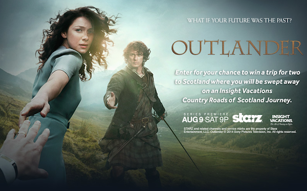 Enter for a Chance to Win the Outlander Scotland Sweepstakes