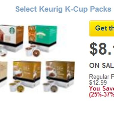a52b24415524ea Starbucks, Newman's Own and More K-Cups only $.45 Each!