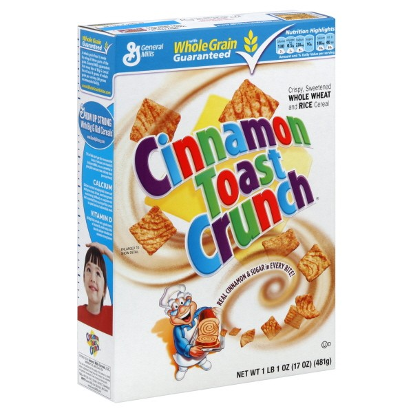 $.50/1 Cinnamon Toast Crunch Cereal Coupon + Gift Card