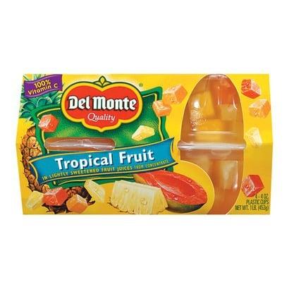 del monte fruit cups
