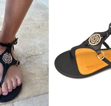184a70b32f75 Tory Burch Inspired Sandals only  22.98 Shipped! (reg  40)