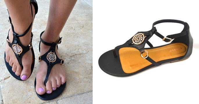 5936b8bb3e3d Tory Burch Inspired Sandals only  22.98 Shipped! (reg  40) - Thrifty ...