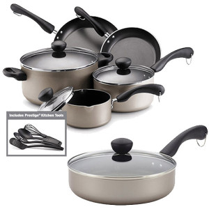 14-Piece Farberware Cookware Set only $39 Shipped!