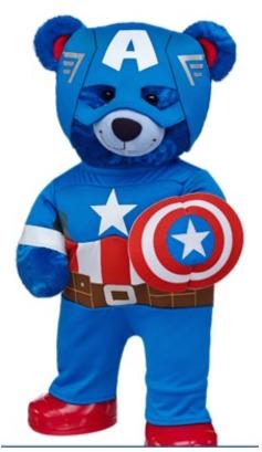 Captain America Build-a-Bear