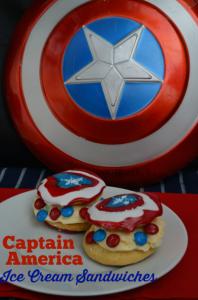 Captain America Bingo Fun and M&M Recipes