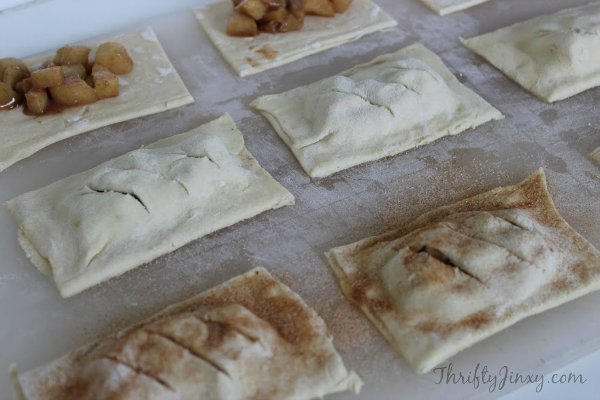 Copycat McDonalds Apple Pies Recipe Process