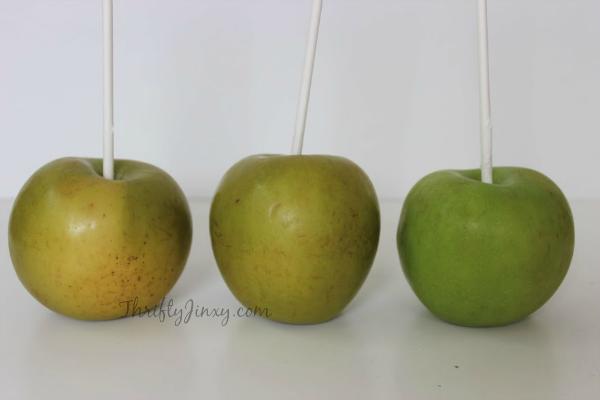 Easy Homemade Caramel Apple Recipe Sticks