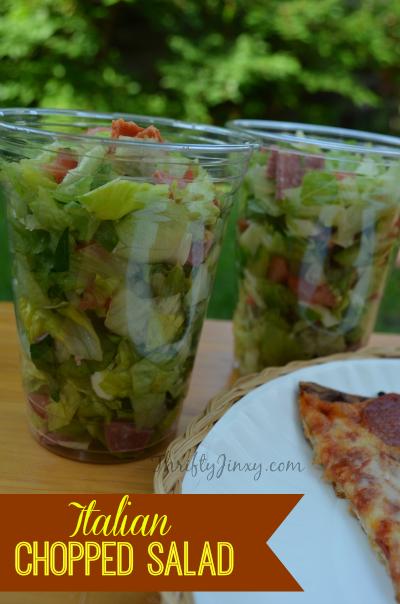 Italian Chopped Salad Recipe - YUM!