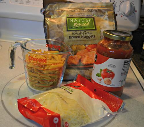 Mini Chicken Parmesan Cups Ingredients