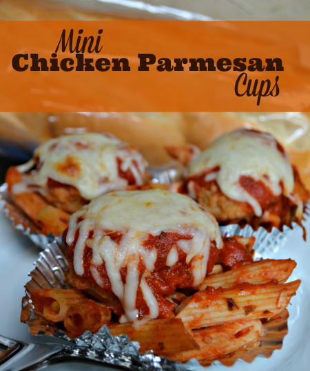 Mini Chicken Parmesan Cups Recipe