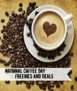 National Coffee Day Freebies and Deals – September 29th