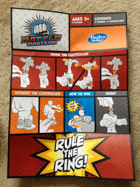 Transformers Battle Masters Instructions