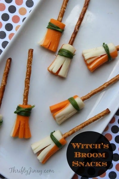Witch's Broom Snacks – Fun for Halloween!