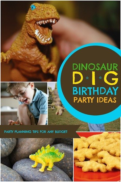 Tips for Planning a Dinosaur Dig Party