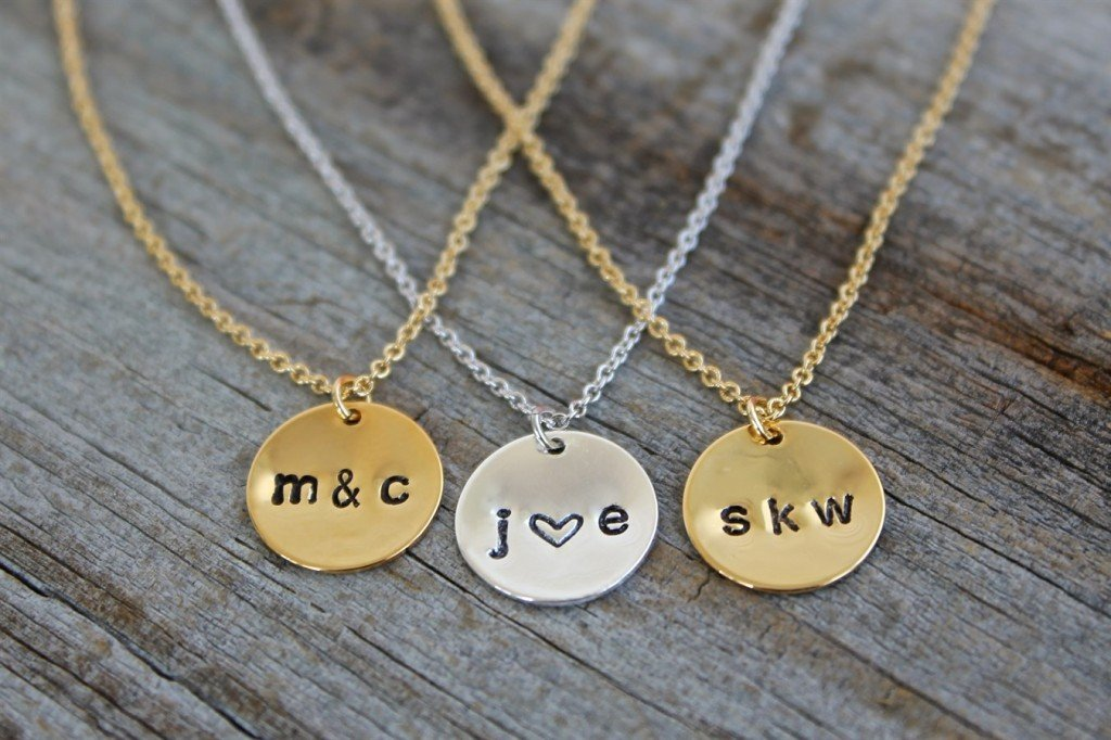 Gorgeous personalized hand stamped necklaces only for How do you make hand stamped jewelry