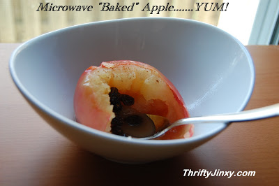 Recipe: Easy and Delicious Baked Apples from the Microwave