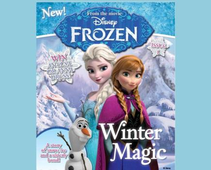 New Disney FROZEN Magazine – Get it for Only $15!