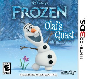 Frozen Olaf's Quest for Nintendo 3DS only $19.99 (Reg. $29.99)