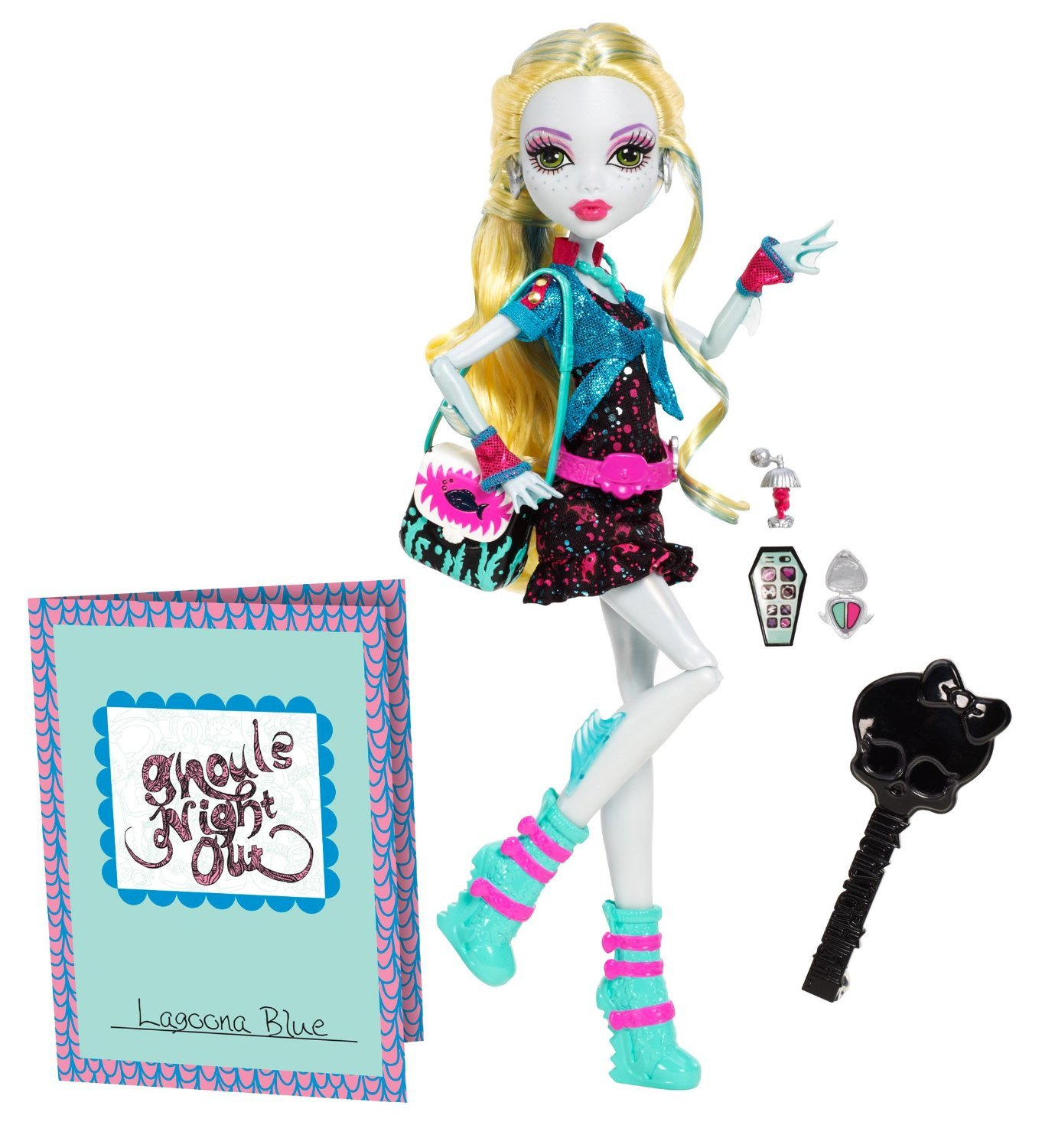 Monster High Ghouls Night Out Doll Lagoona Blue Doll only 999