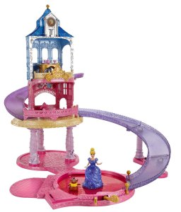 Disney Princess Glitter Glider Castle Playset only $35 Shipped!