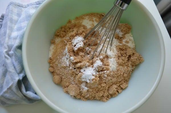 Choconut Cookie Mix Jar Process