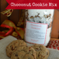 Choconut Cookie Mix in a Jar Gift Idea
