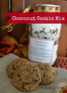 Choconut Cookie Mix in Jar Recipe – Easy Holiday DIY Gift