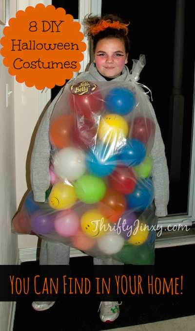 8 diy halloween costumes you can find in your home thrifty jinxy - Funny Home Made Halloween Costumes