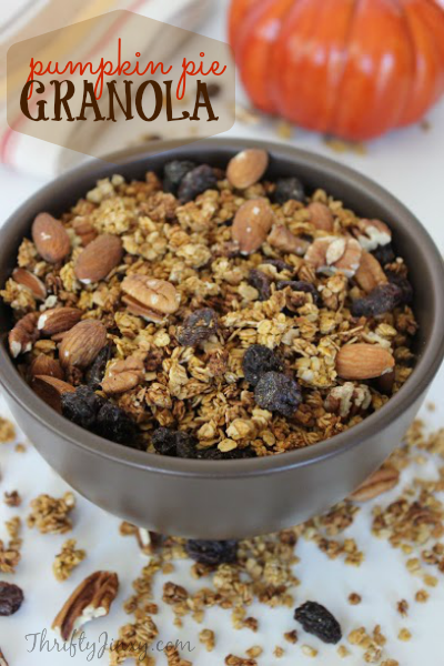 Easy Pumpkin Granola Recipe