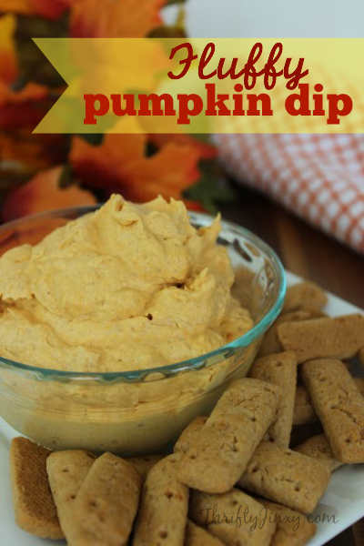 Fluffy Pumpkin Dip Recipe