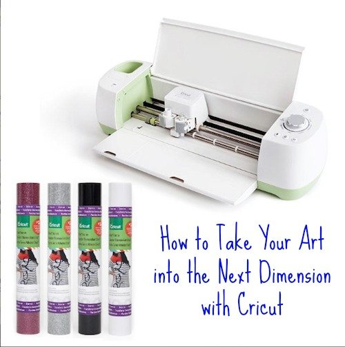 See How to Take Your Art into the Next Dimension with Cricut